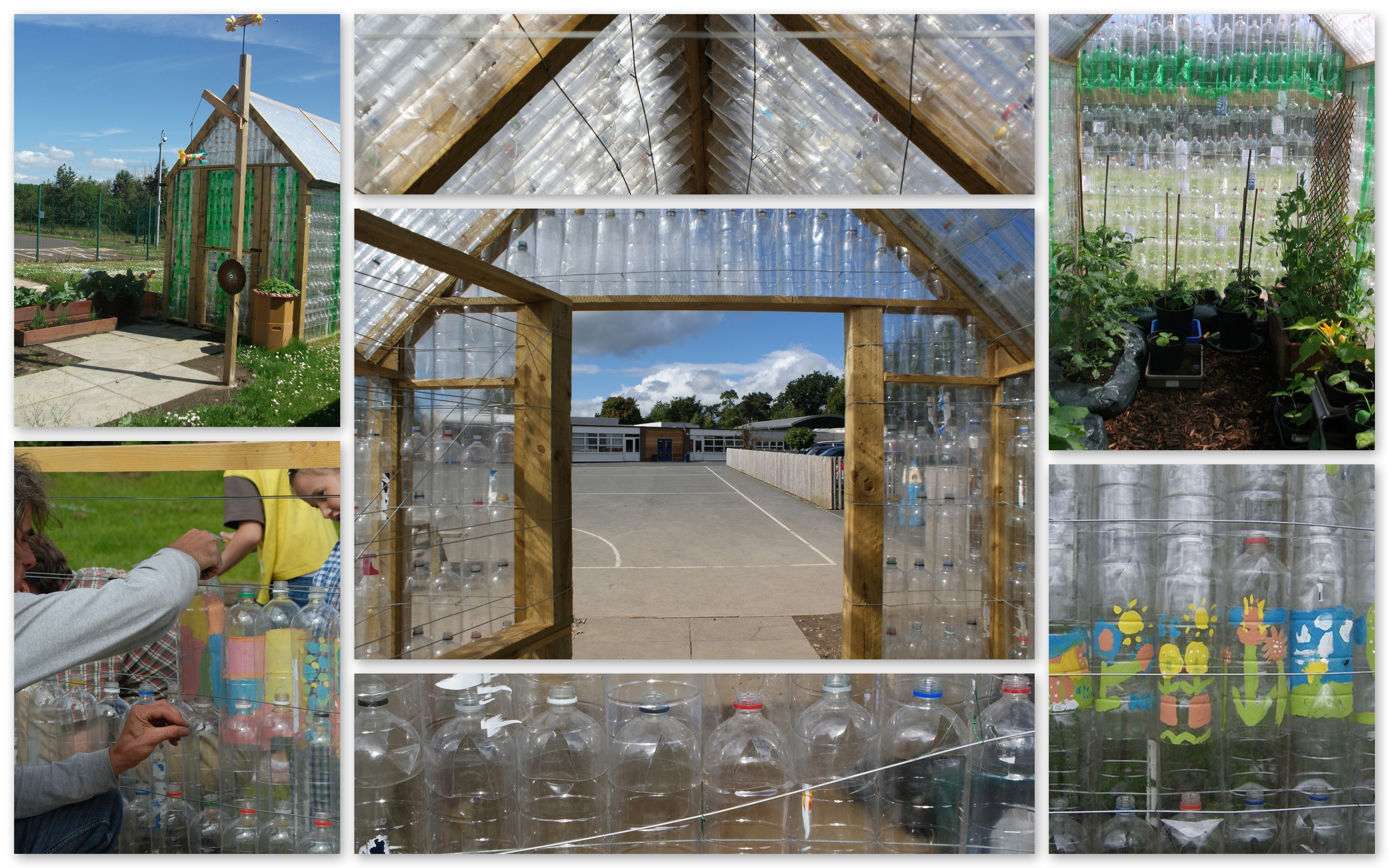 Plastic Bottle Greenhouse Sustainable Communities