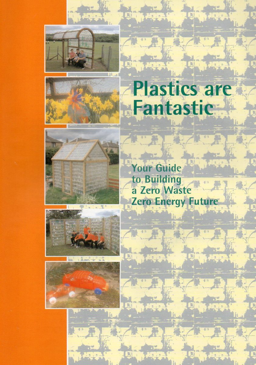 "Scan of the front cover of ""Plastics are Fantastic"""