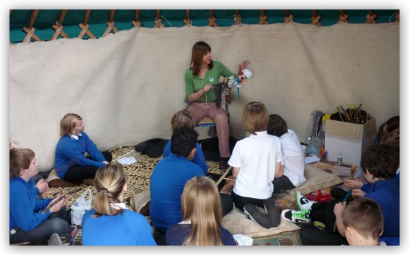 storytelling in yurt