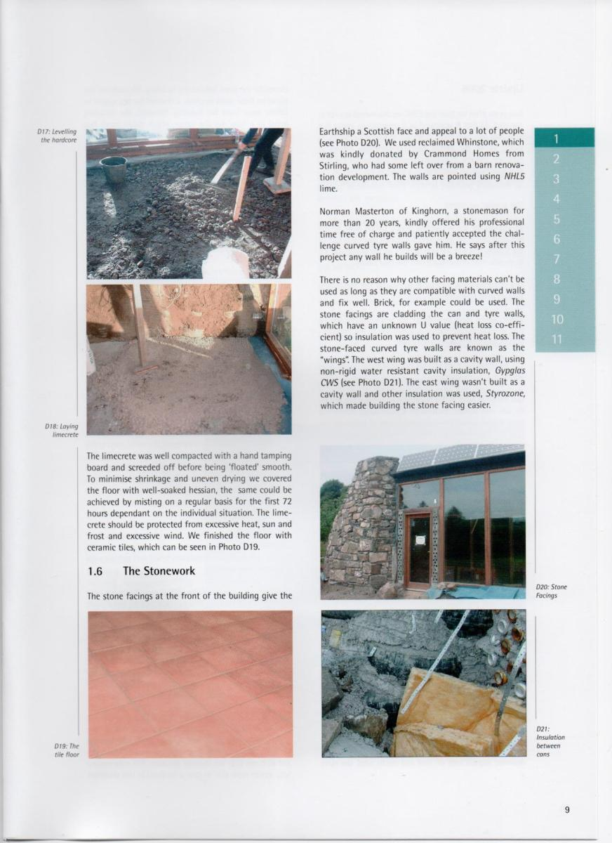Sample page 1 from the Earthship Toolkit