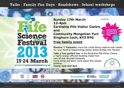 Fife Science Festival 2013