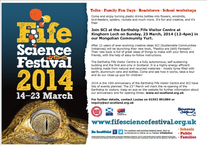 Fife Science Festival Poster