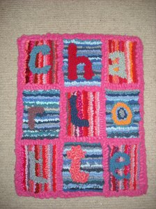 Rag rug picture