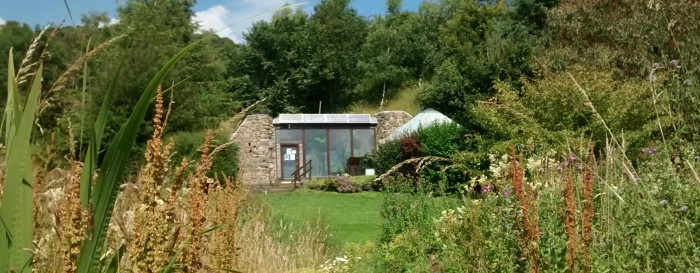 Earthship in August
