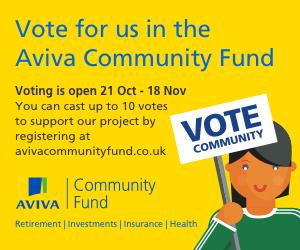 Aviva Community Fund banner 1